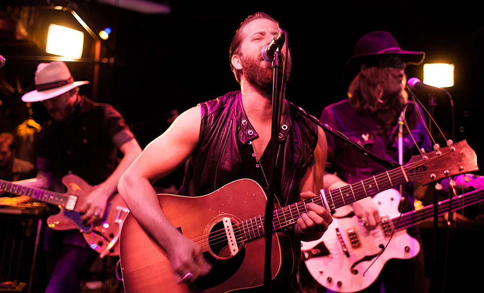 Brothers Perform at John Varvatos Bowery Live