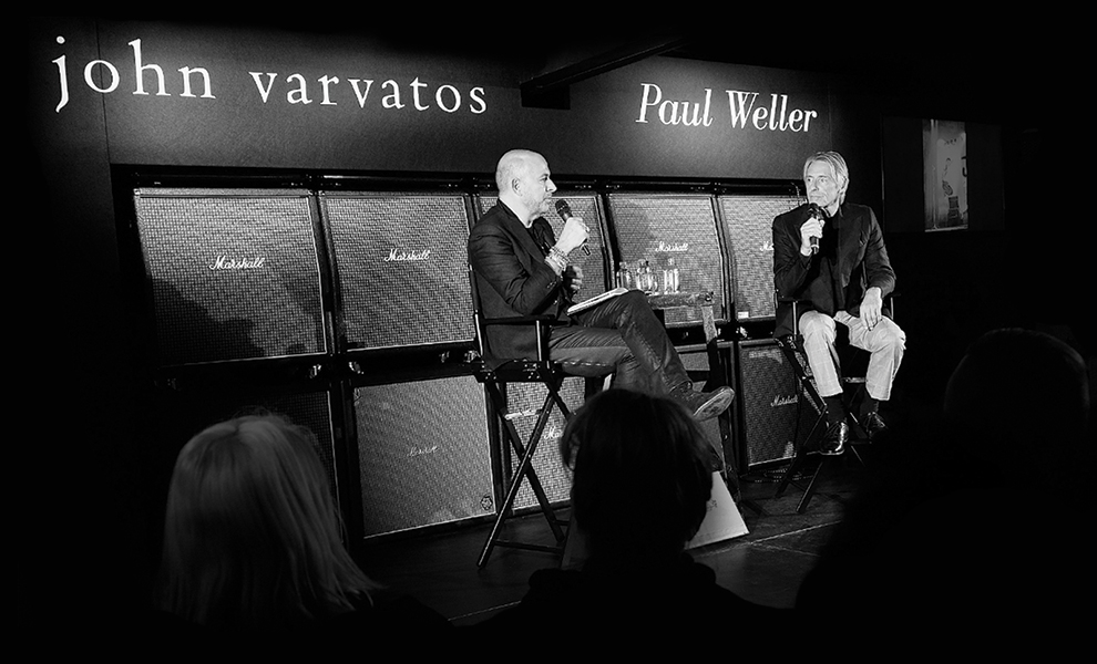 Paul Weller Talks Style | John Varvatos