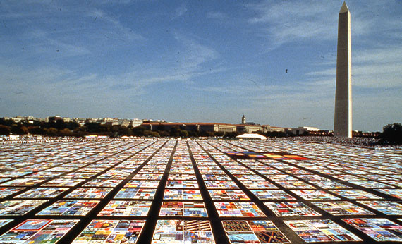 The names project: AIDS memorial Quilt